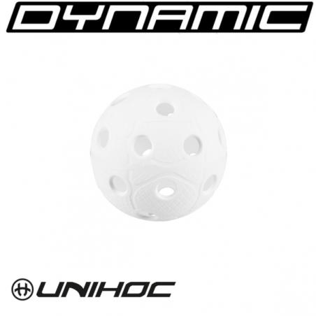 Set 200 Balles de unihockey DYNAMIC blanches